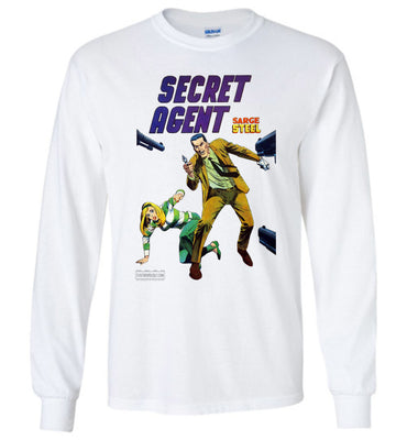 Secret Agent No.10 Long Sleeve (Youth, Light Colors)