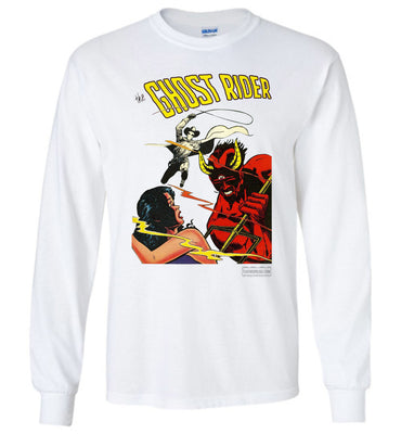 The Ghost Rider No.12 Long Sleeve (Unisex, Light Colors)