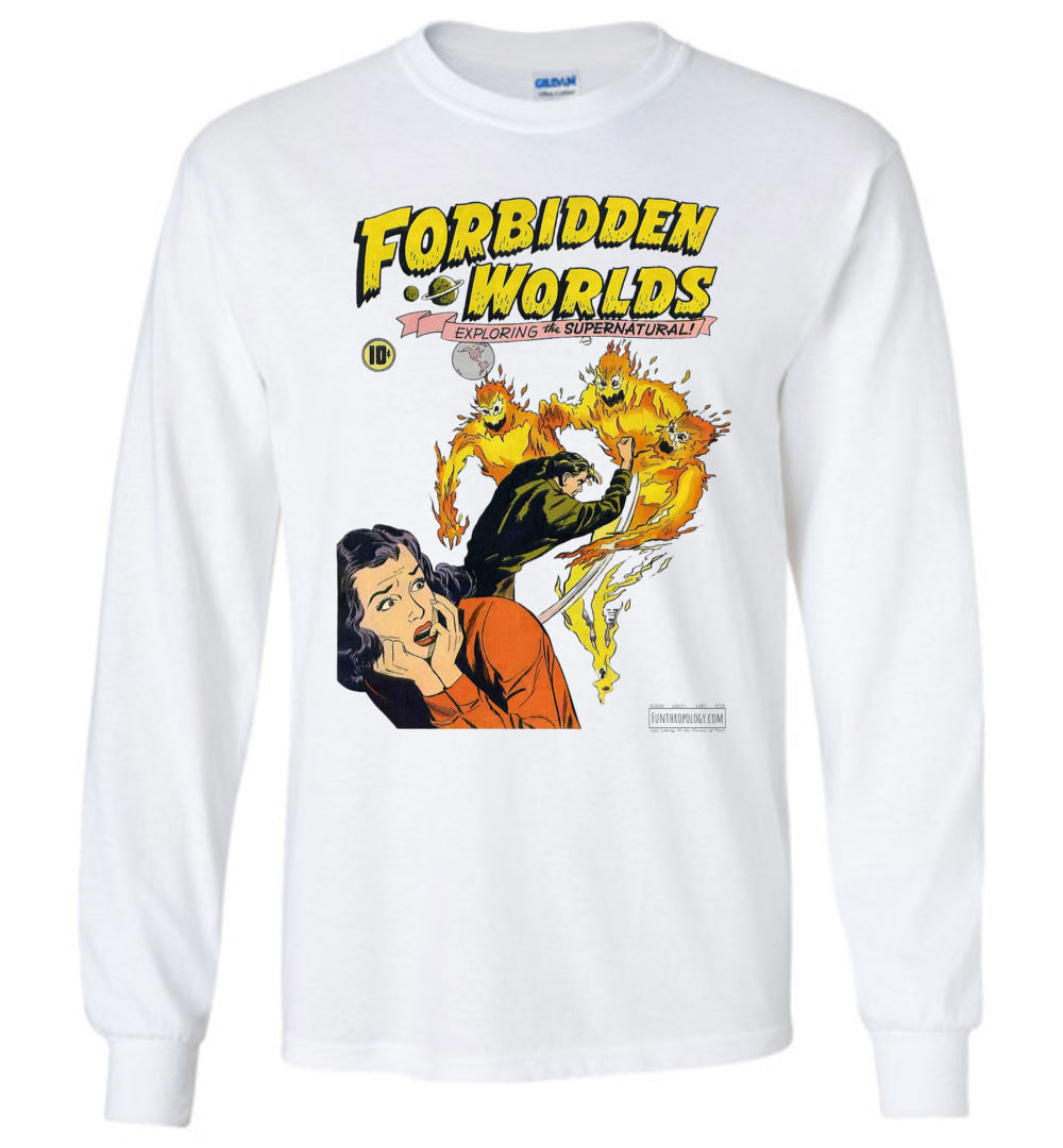 Forbidden Worlds No.2 Long Sleeve (Unisex, Light Colors)