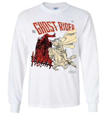 The Ghost Rider No.2 Long Sleeve (Unisex Plus, Light Colors)