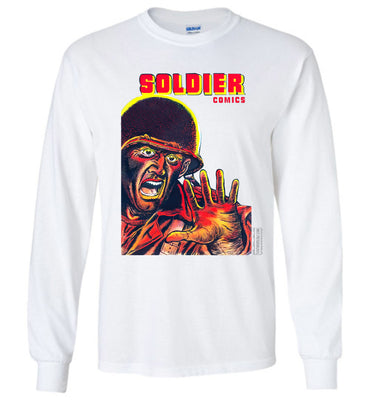 Soldier Comics No.8 Long Sleeve (Youth, Light Colors)
