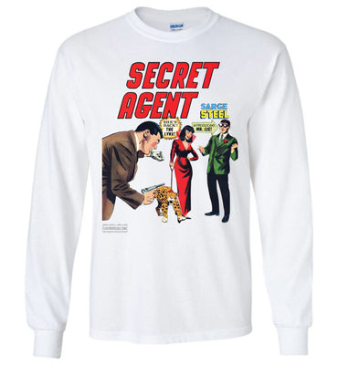 Secret Agent No.9 Long Sleeve (Youth, Light Colors)