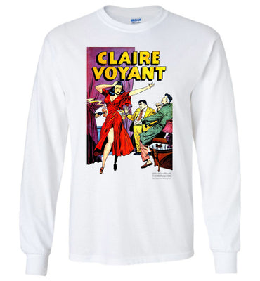 Claire Voyant No.2 Long Sleeve (Unisex Plus, Light Colors)