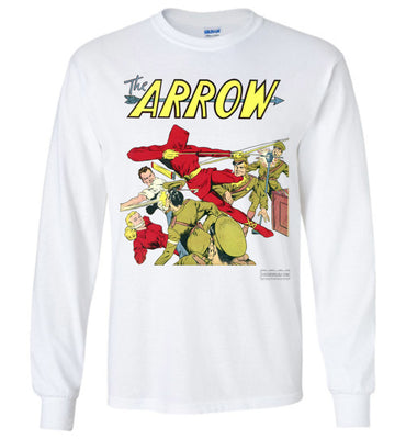 The Arrow No.3 Long Sleeve (Unisex, Light Colors)