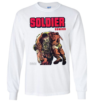 Soldier Comics No.10 Long Sleeve (Youth, Light Colors)