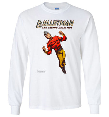 Bulletman Reimagined Long Sleeve (Unisex Plus, Light Colors)