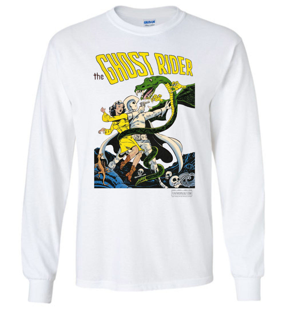 The Ghost Rider No.7 Long Sleeve (Unisex Plus, Light Colors)