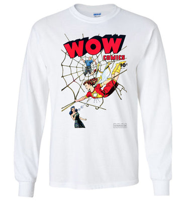 WOW Comics No.37 Long Sleeve (Youth, Light Colors)