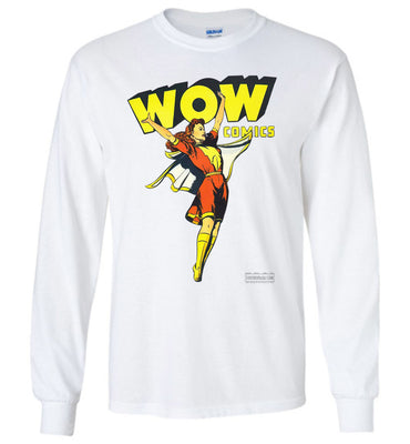 WOW Comics No.38 Long Sleeve (Youth, Light Colors)