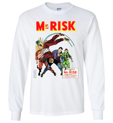 Mr. Risk No.7 Long Sleeve (Youth, Light Colors)