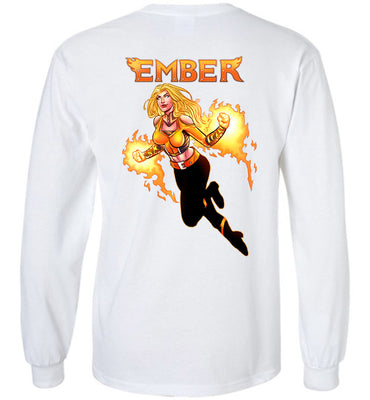 Capes & Chaos Ember Long Sleeve (Youth)