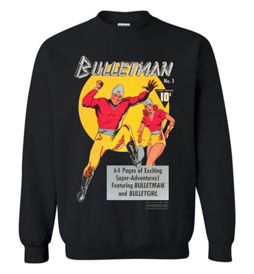 Bulletman No.1 Sweatshirt (Youth, Dark Colors)
