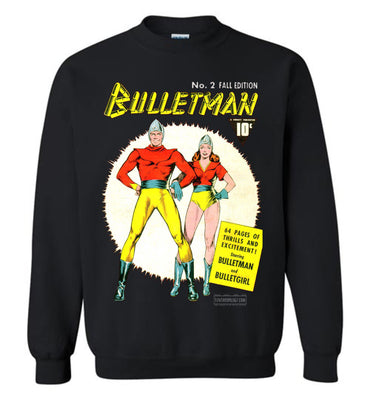Bulletman No.2 Sweatshirt (Youth, Dark Colors)