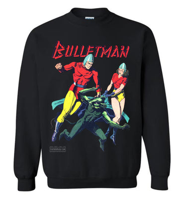 Bulletman No.7 Sweatshirt (Youth, Dark Colors)