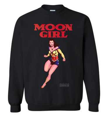 Moon Girl Reimagined Sweatshirt (Unisex Plus, Dark Colors)