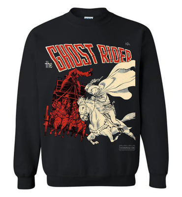 The Ghost Rider No.2 Sweatshirt (Unisex, Dark Colors)
