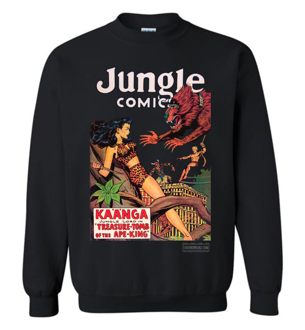 Jungle Comics No.131 Sweatshirt (Unisex, Dark Colors)