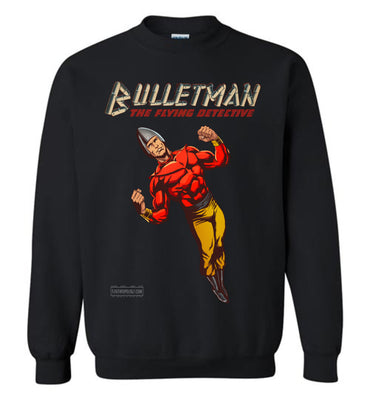 Bulletman Reimagined Sweatshirt (Unisex Plus, Dark Colors)