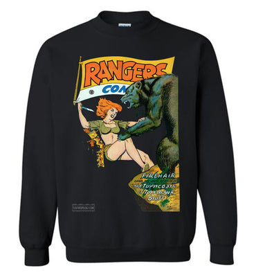 Rangers Comics No.41 Sweatshirt (Unisex, Dark Colors)