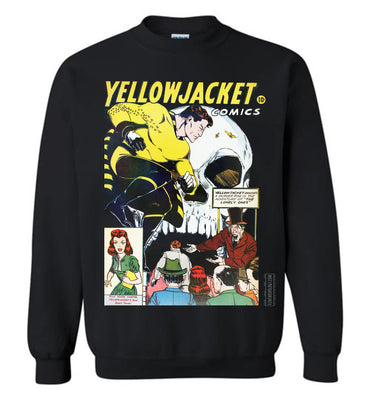 Yellowjacket No.7 Sweatshirt (Unisex, Dark Colors)