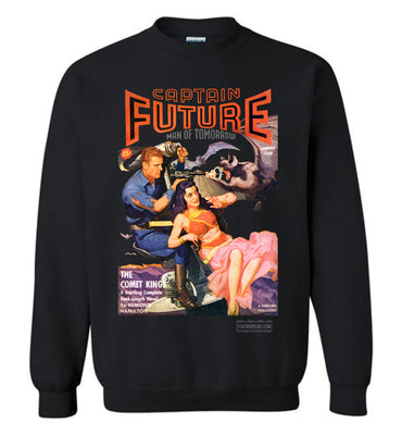 Captain Future No.11 Sweatshirt (Unisex Plus, Dark Colors)