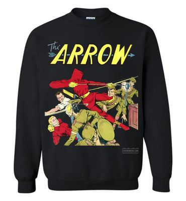 The Arrow No.3 Sweatshirt (Unisex Plus, Dark Colors)