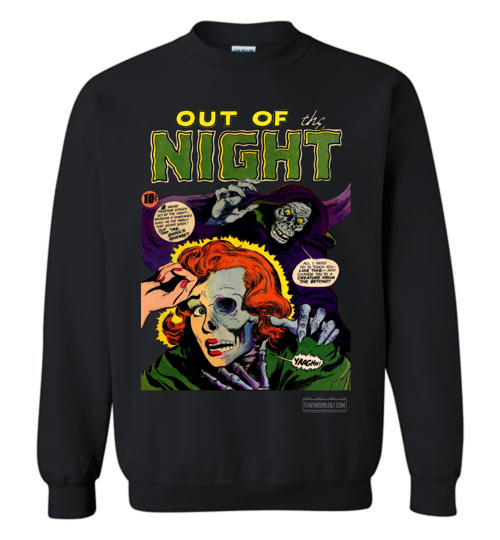 Out Of The Night No.6 Sweatshirt (Youth, Dark Colors)