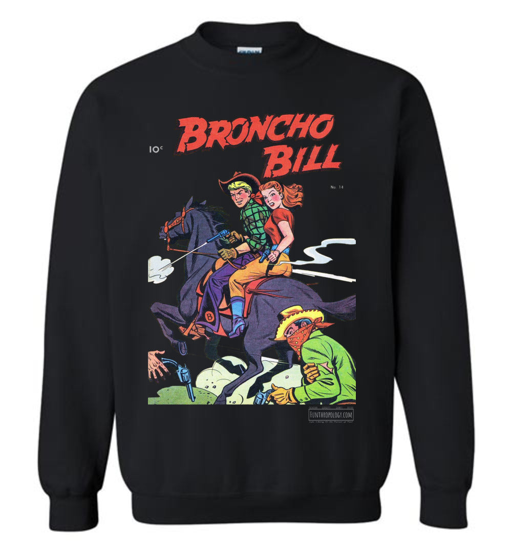 Broncho Bill No.14 Sweatshirt (Unisex, Dark Colors)
