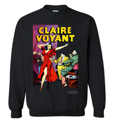 Claire Voyant No.2 Sweatshirt (Unisex Plus, Dark Colors)