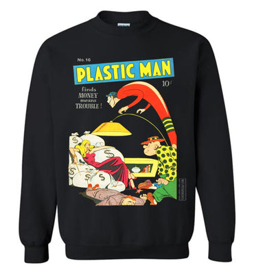Plastic Man No.16 Sweatshirt (Unisex, Dark Colors)