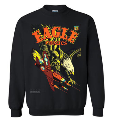 Eagle Comics No.1 Sweatshirt (Unisex Plus, Dark Colors)