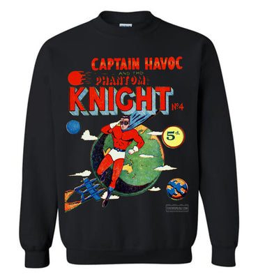 The Phantom Knight No.4 Sweatshirt (Unisex, Dark Colors)