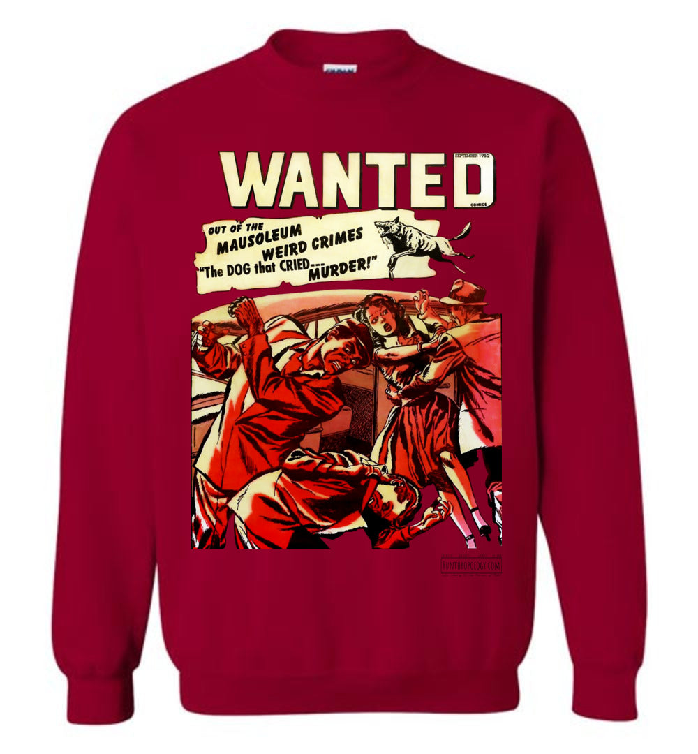 Wanted Comics No.49 Sweatshirt (Unisex, Light Colors)