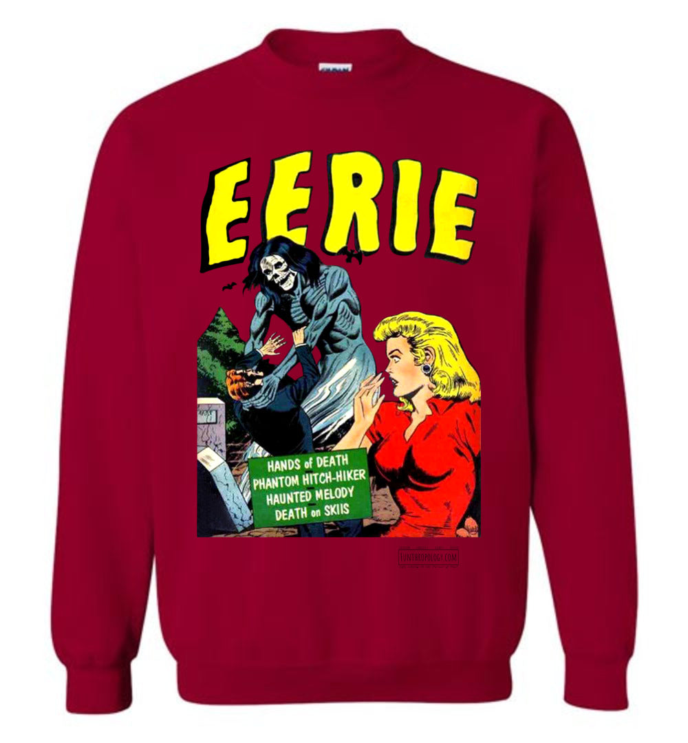 Eerie Comics No.9 Sweatshirt (Unisex, Light Colors)