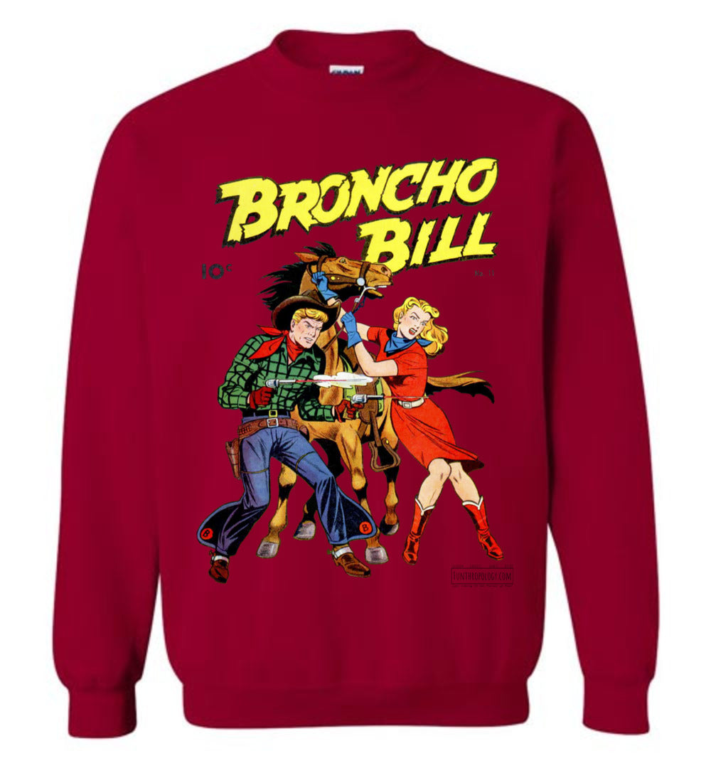 Broncho Bill No.11 Sweatshirt (Unisex, Light Colors)
