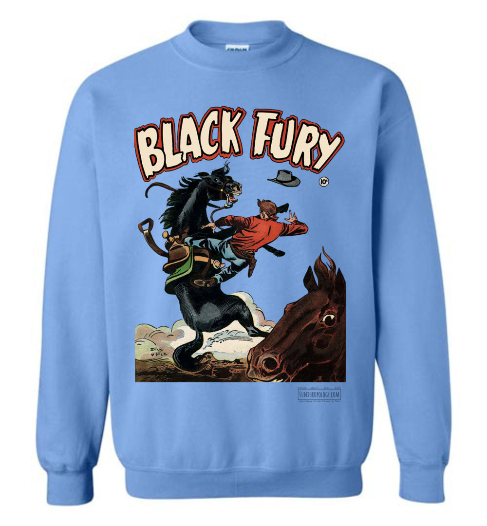 Black Fury No.4 Sweatshirt (Unisex, Light Colors)