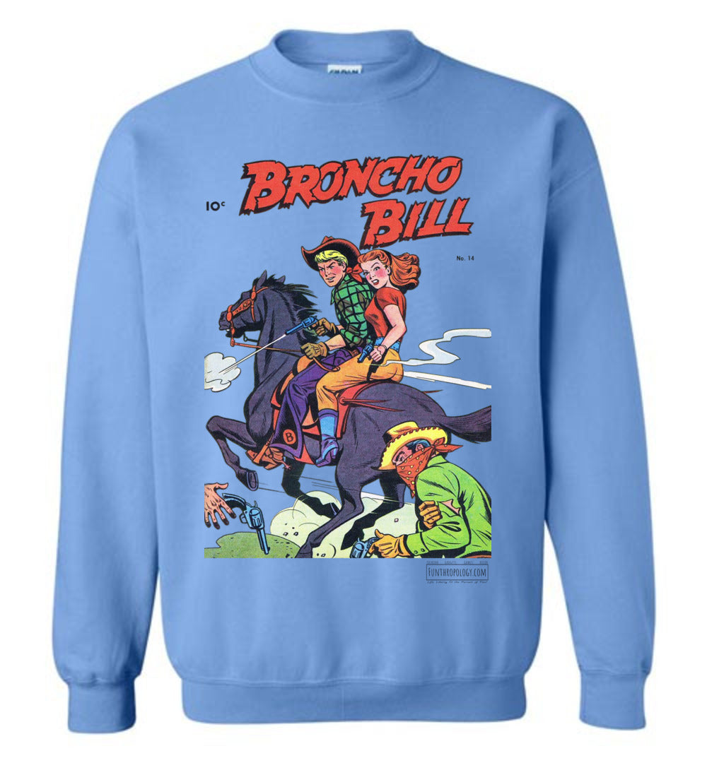 Broncho Bill No.14 Sweatshirt (Unisex, Light Colors)