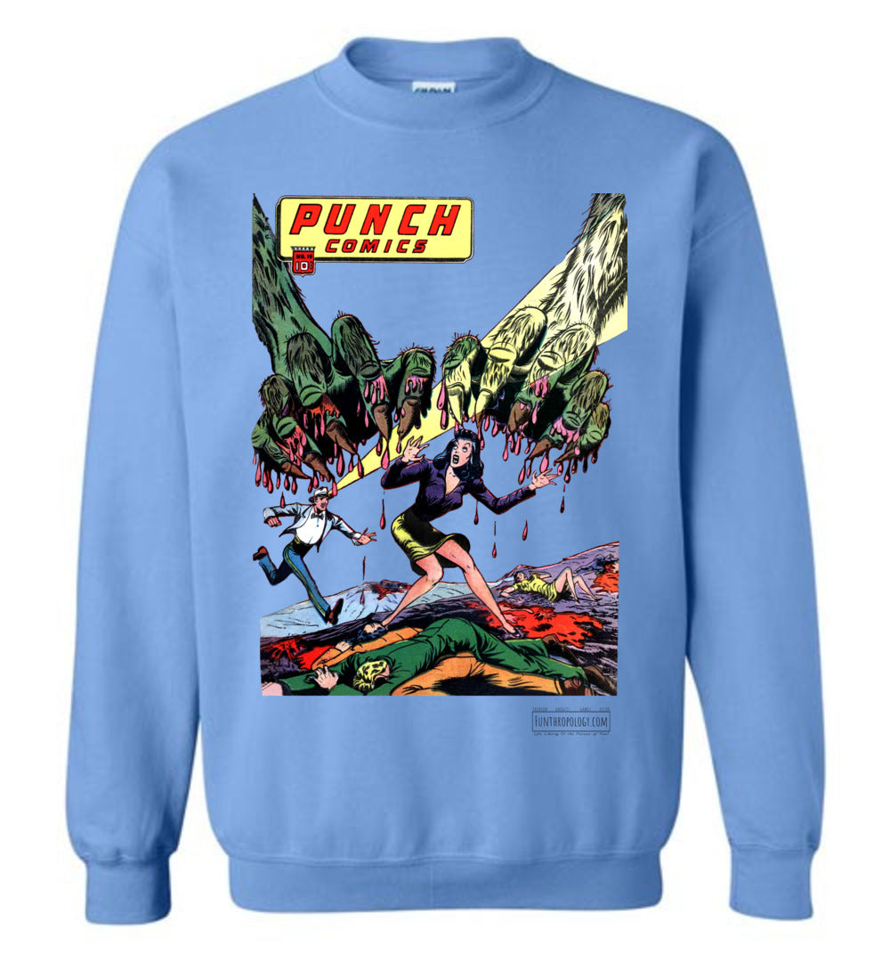 Punch Comics No.19 Sweatshirt (Unisex, Light Colors)