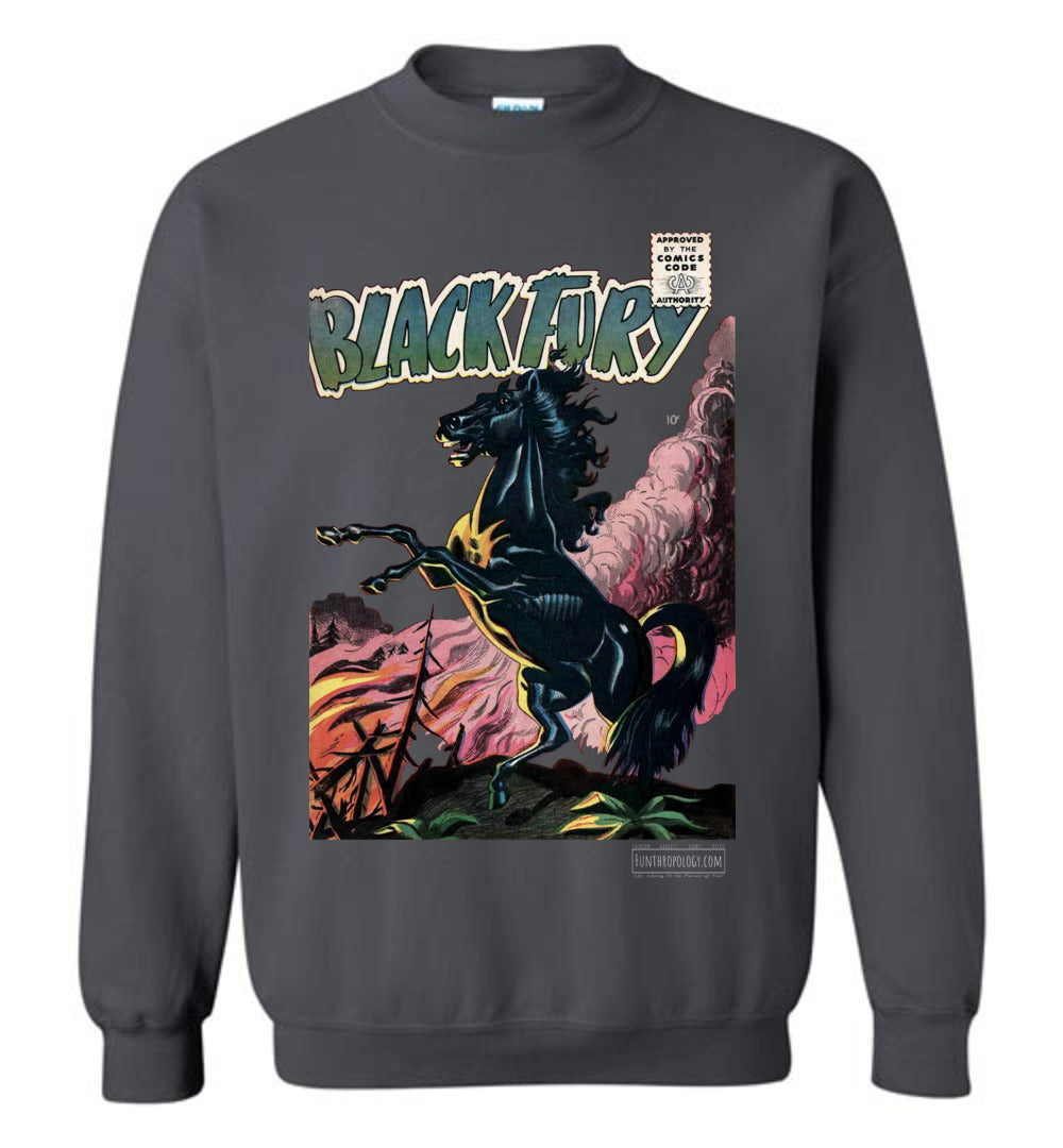 Black Fury No.1 Sweatshirt (Unisex, Dark Colors)