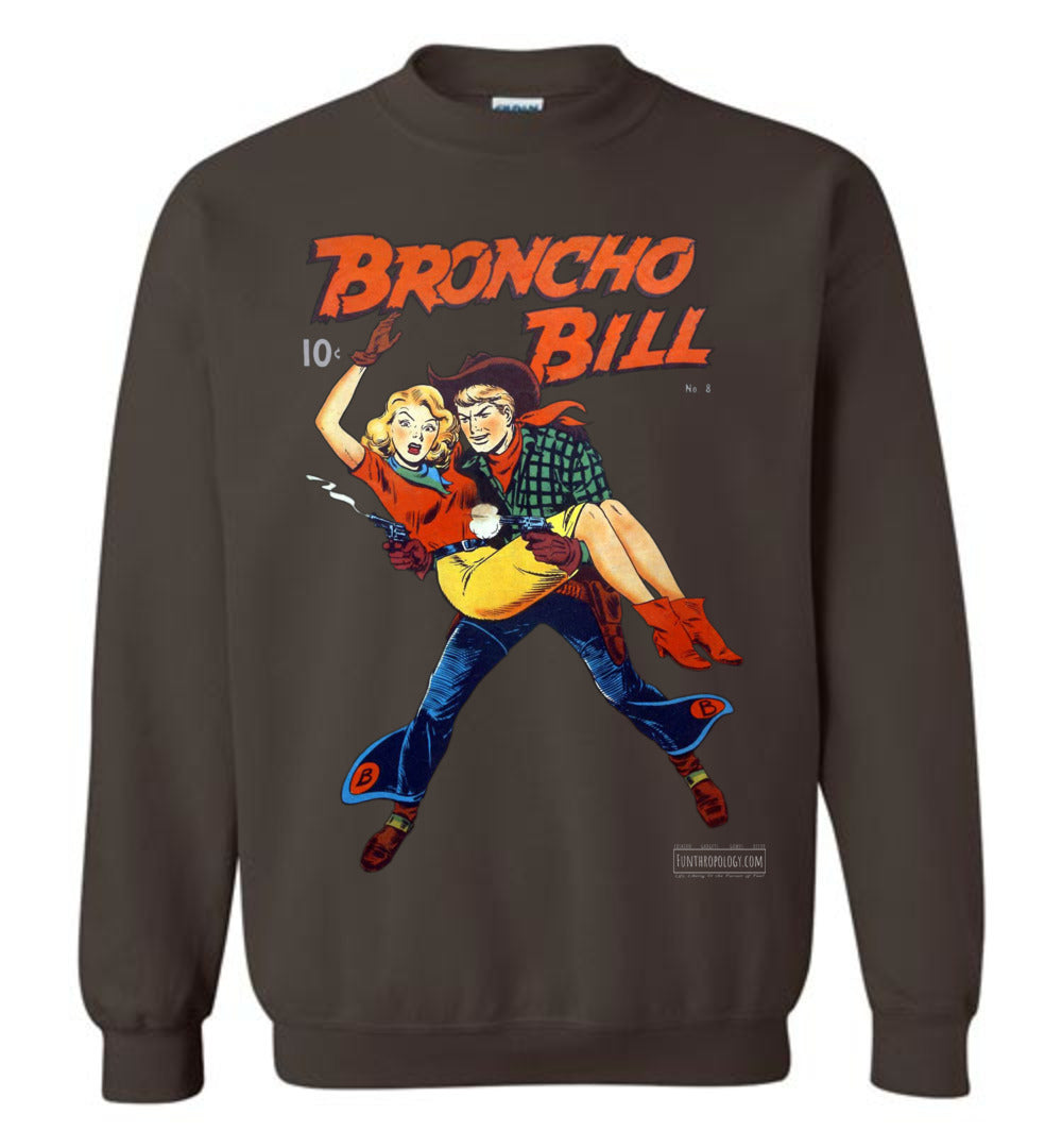 Broncho Bill No.8 Sweatshirt (Unisex, Dark Colors)