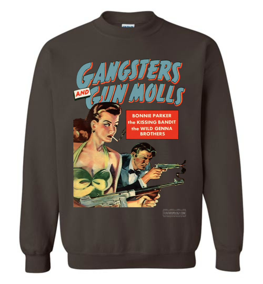 Gangsters And Gunmolls No.2 Sweatshirt (Unisex, Dark Colors)