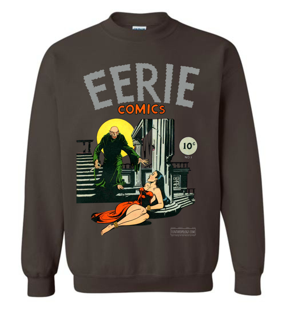 Eerie Comics No.1 Sweatshirt (Unisex, Dark Colors)