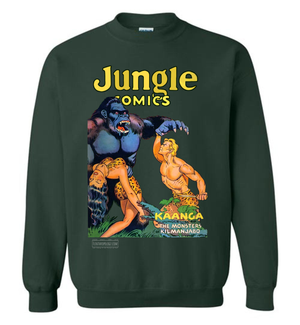 Jungle Comics No.140 Sweatshirt (Unisex, Dark Colors)