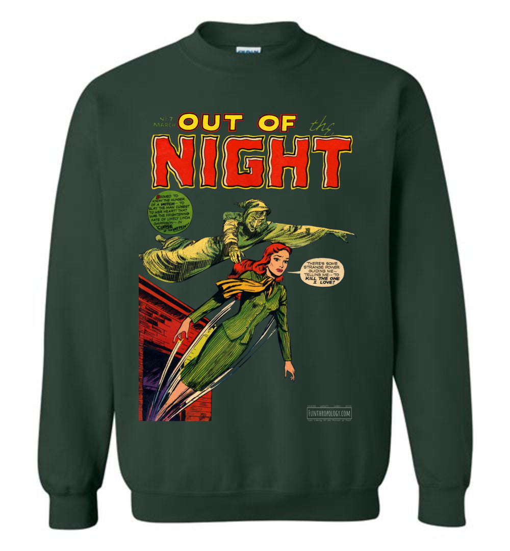 Out Of The Night No.7 Sweatshirt (Youth, Dark Colors)