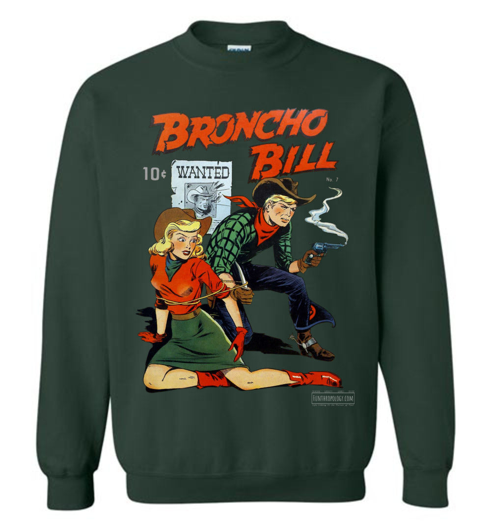 Broncho Bill No.7 Sweatshirt (Unisex, Dark Colors)