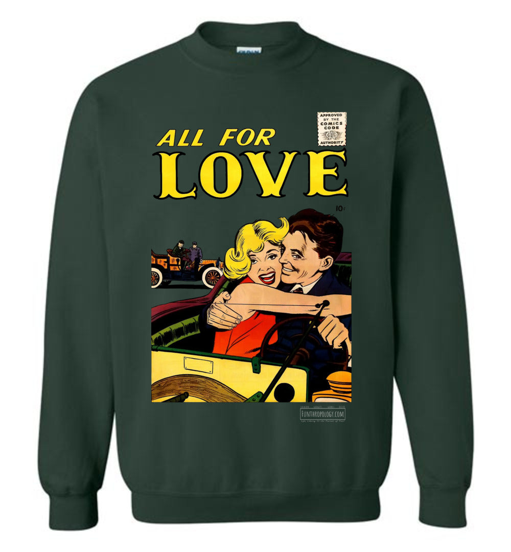 All For Love No.3.4 Sweatshirt (Youth, Dark Colors)