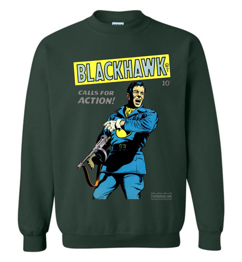 Blackhawk No.19 Sweatshirt (Unisex, Dark Colors)