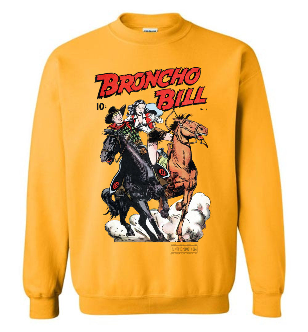 Broncho Bill No.5 Sweatshirt (Unisex, Light Colors)