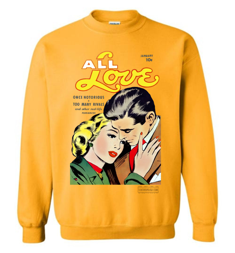 All Love No.30 Sweatshirt (Unisex, Light Colors)