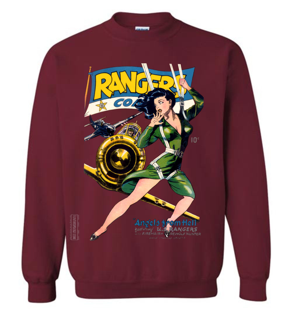 Rangers Comics No.26 Sweatshirt (Unisex, Dark Colors)